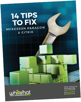 14 tips to fix mckesson paragon and citrix